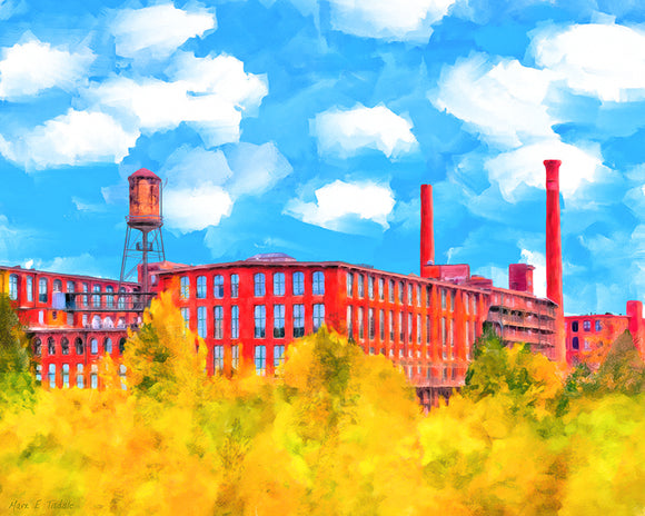 Fulton Cotton Mill - Historic Atlanta Art Print