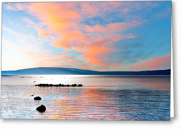 Galway Bay - Irish West Coast Greeting Card
