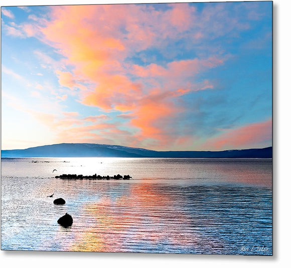 Galway Bay - Irish West Coast Metal Print