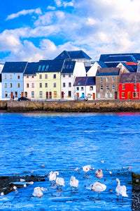 Galway Water View - Irish Art Print