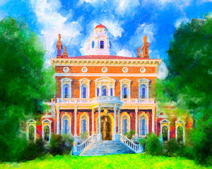 Hay House - Macon Georgia Art Print