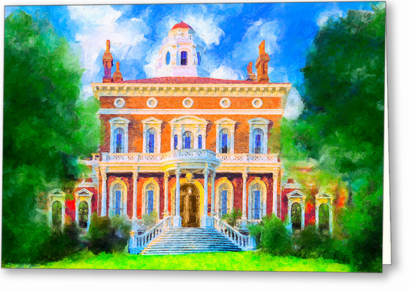 Hay House - Macon Georgia Greeting Card