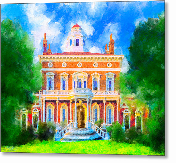 Hay House - Macon Georgia Metal Print