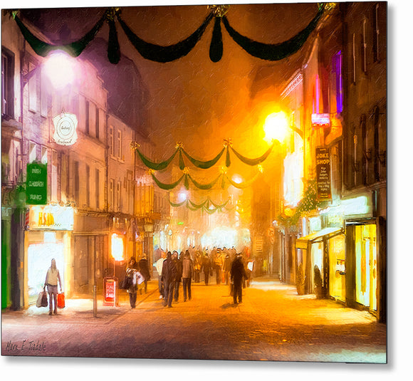 Holidays in Galway - Ireland Metal Print