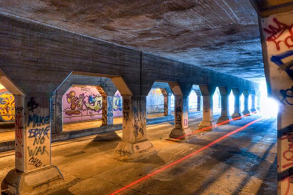 Krog Street Tunnel - Atlanta Art Print