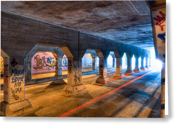 Krog Street Tunnel - Atlanta Greeting Card