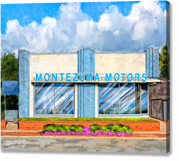Montezuma Motors - Georgia Canvas Print