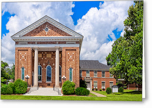 Montezuma United Methodist Church - Georgia Greeting Card