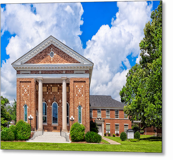 Montezuma United Methodist Church - Georgia Metal Print