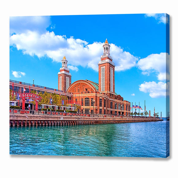 Navy Pier - Chicago Canvas Print