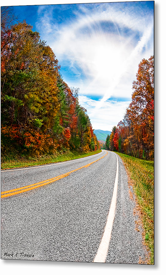 North Georgia Mountains - Fall Metal Print