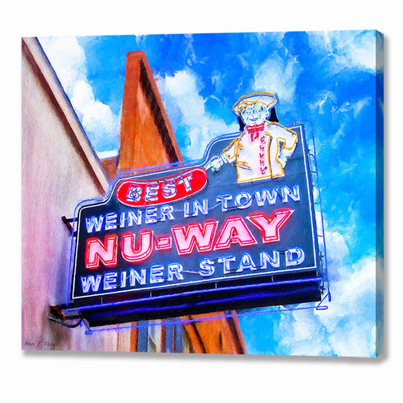 Nu-Way Weiners - Macon Georgia Canvas Print