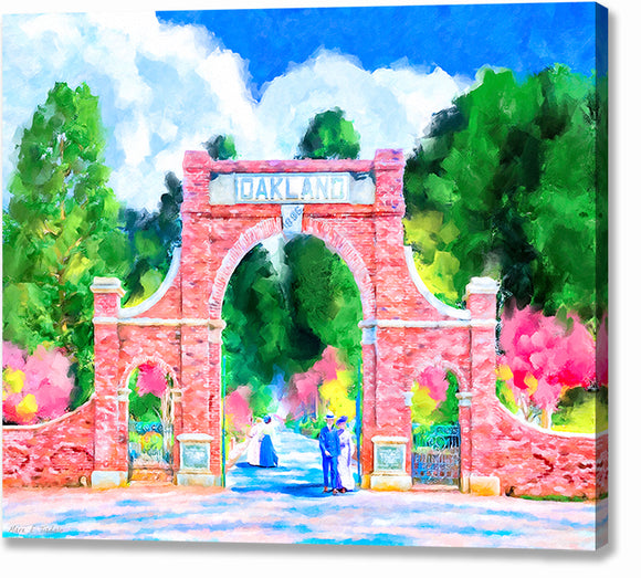 Oakland Cemetery - Atlanta Canvas Print