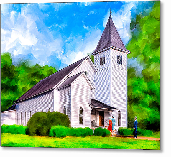 Oglethorpe United Methodist Church - Georgia Metal Print