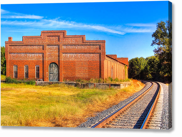 Old Cotton Warehouse - Georgia Canvas Print