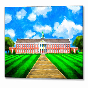 Old Main - Andalusia High School - Metal Print