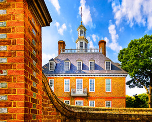 Palace Walls - Colonial Williamsburg Art Print