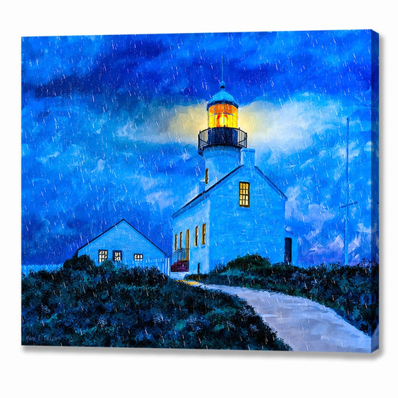 Point Loma Lighthouse - San Diego Canvas Print