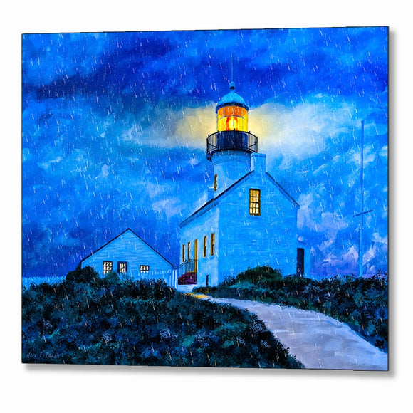 Point Loma Lighthouse - San Diego Metal Print