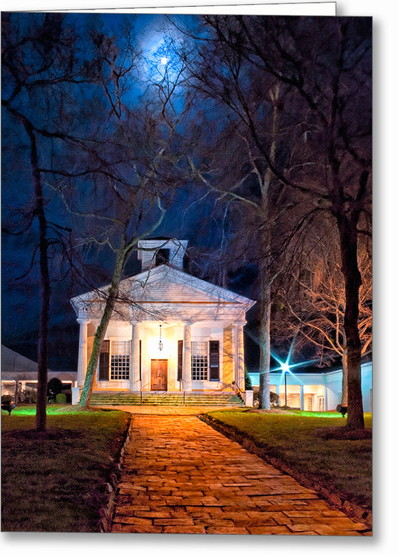 Roswell Presbyterian Church - Georgia Greeting Card