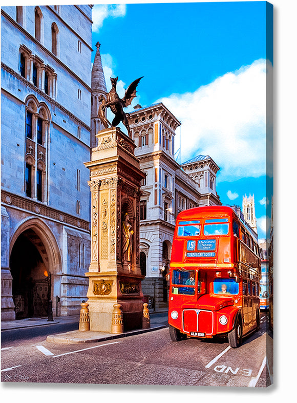 Routemaster Bus - London Canvas Print