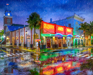 Sloppy Joe's Bar - Historic Key West Florida - Art Print