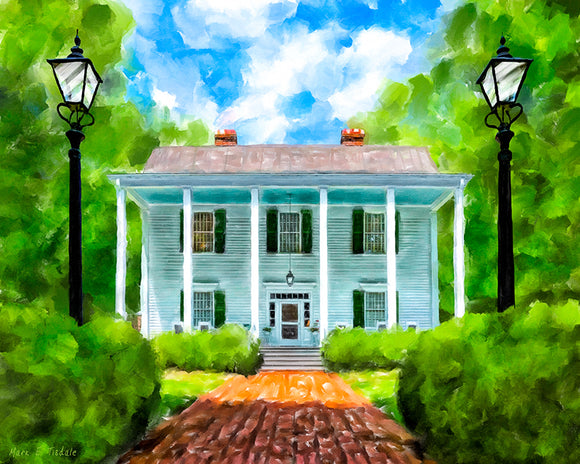 Smith Plantation - Roswell Georgia Art Print