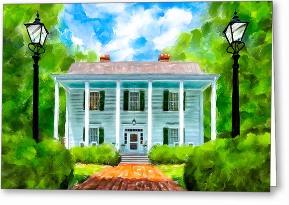 Smith Plantation - Roswell Georgia Greeting Card