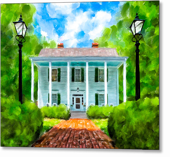 Smith Plantation - Roswell Georgia Metal Print