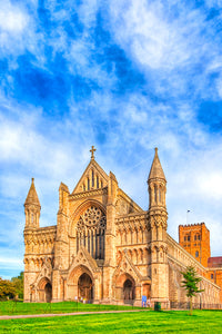 St Albans Abbey - Historic Cathedral Art Print