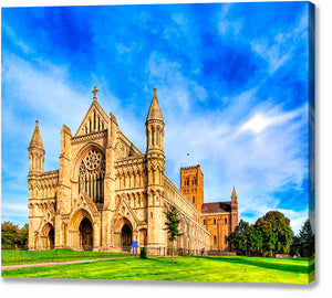 St Albans Cathedral - UK Canvas Print