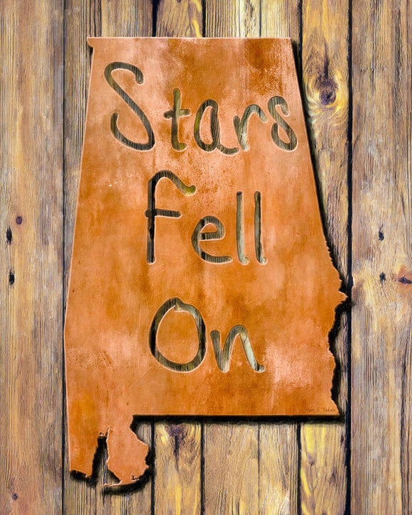 Stars Fell On Alabama - Art Print