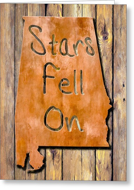 Stars Fell On Alabama - Greeting Card