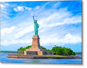 Statue of Liberty - Historic Landmark Metal Print