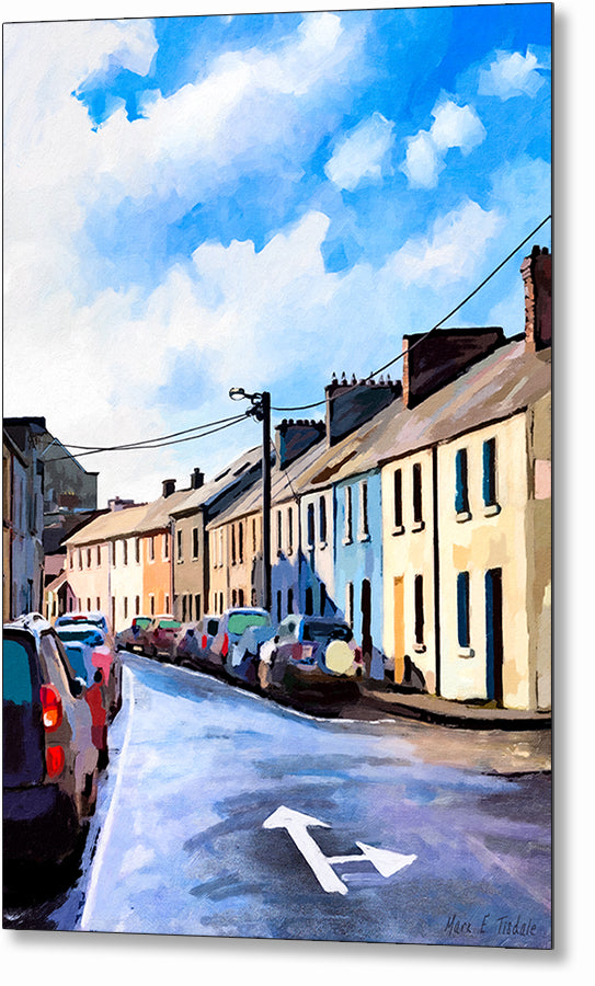 Streets of Galway - Sunny Ireland Metal Print