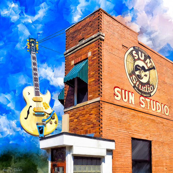 Sun Studio - Birthplace of Rock Music Art Print