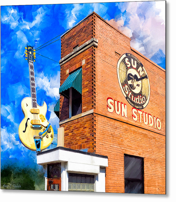 Sun Studio - Birthplace of Rock Music Metal Print