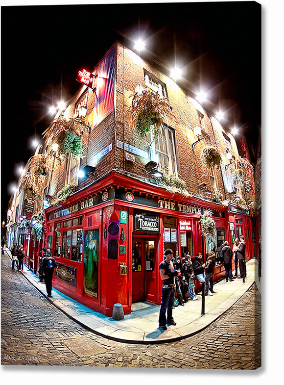 Temple Bar - Dublin Canvas Print