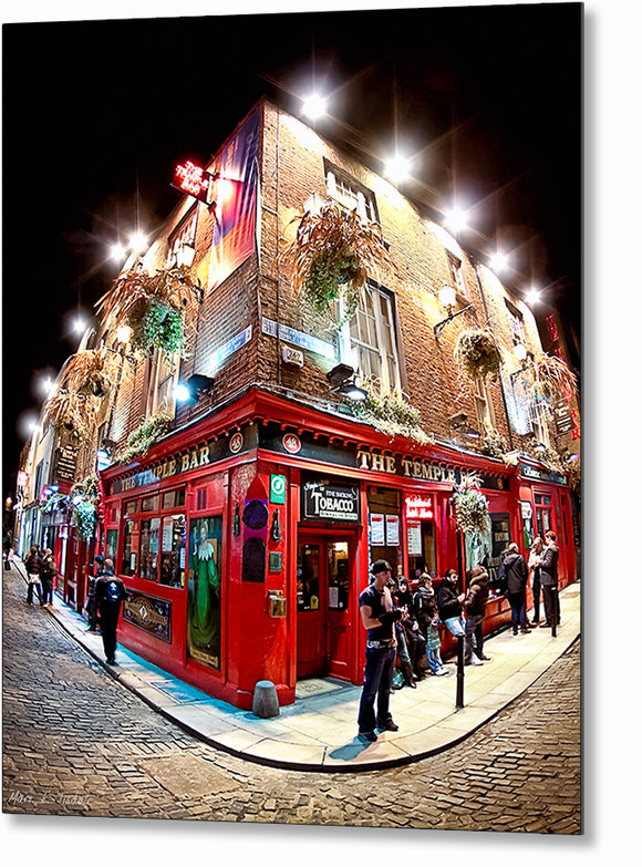 Temple Bar - Dublin Metal Print