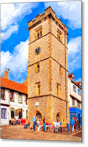The Clock Tower - St Albans Metal Print
