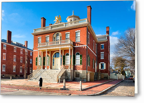 The Custom House - Historic Salem Greeting Card