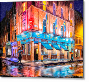 The International Bar - Dublin Pub Metal Print