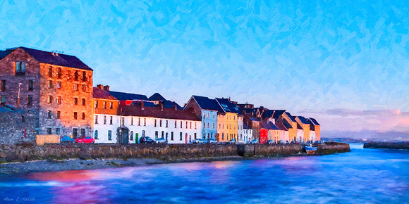 The Long Walk - Galway Art Print