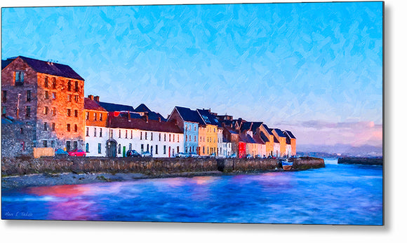 The Long Walk - Galway Metal Print