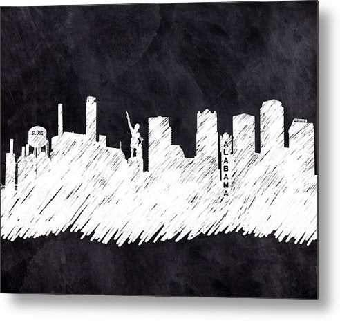 The Skyline - Birmingham - Alabama - Metal Print