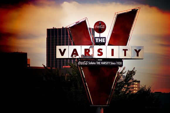 The Varsity - Atlanta Landmark Art Print