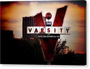 The Varsity - Atlanta Landmark Canvas Print