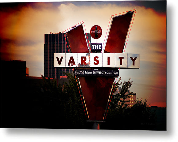 The Varsity - Atlanta Landmark Metal Print