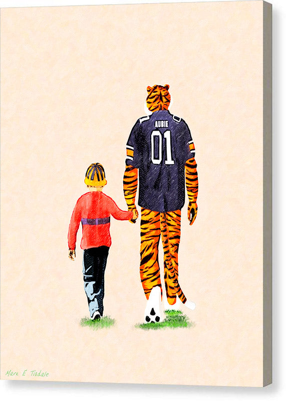 Tiger Tales From Auburn - Canvas Print