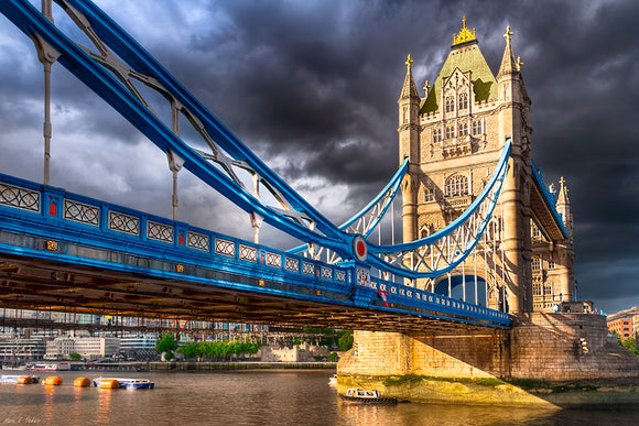 Tower Bridge - Dramatic London Art Print